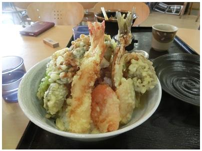 五剣山天丼1