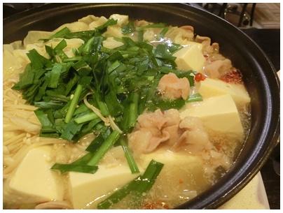 塩ホルモン鍋と焼き鳥5