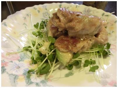 豚肉とアボカドチーズ2