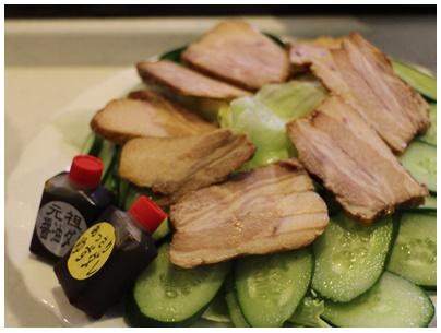 綾川Pの焼き豚サラダ