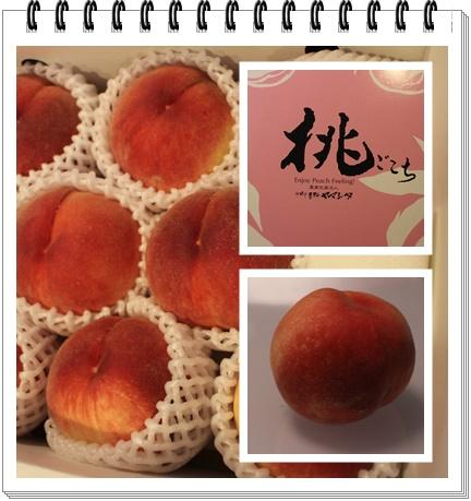 山梨の桃1
