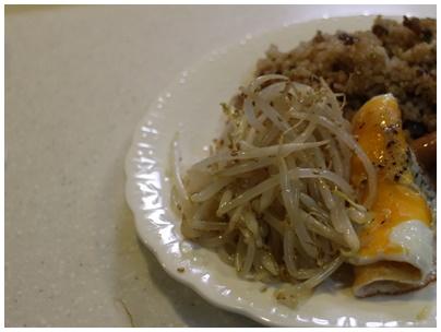 ガーリック飯ランチ3(ナムル)