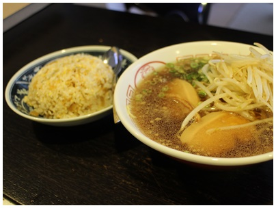 9月の炒飯2(プラスラーメン)