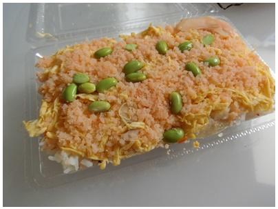 海老そぼろ寿司1