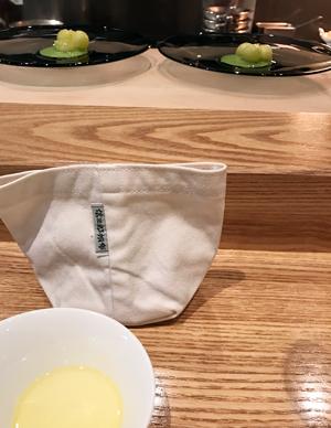 4_一澤信三郎帆布の中には、ホカホカバゲット