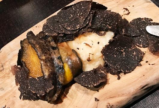 8_エゾアワビのステーキとリゾット