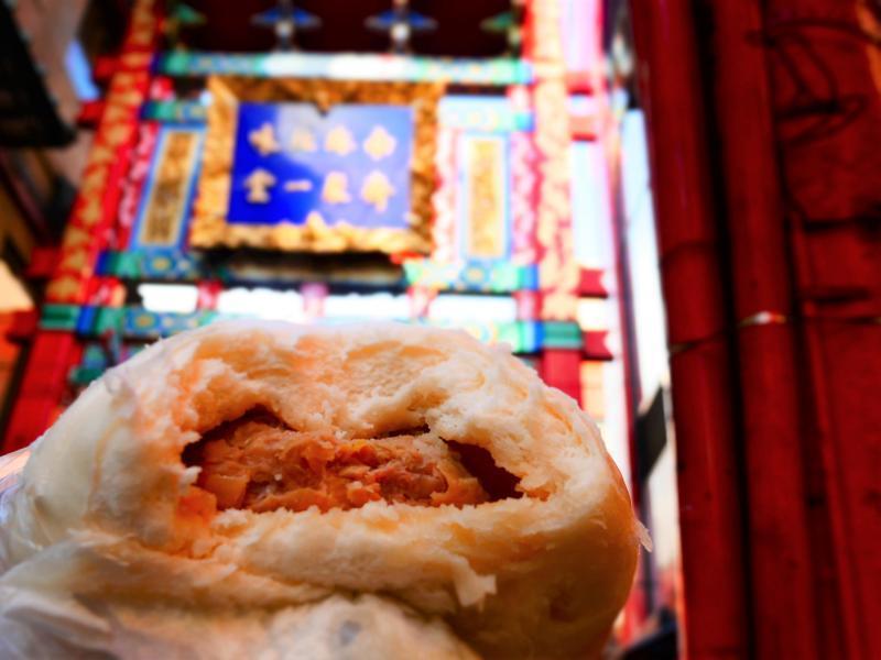 中華街 食べ物1