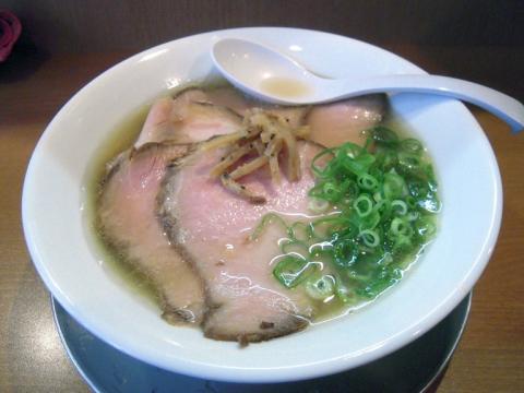 麺や河野_塩ちゃ〜しゅ〜めん