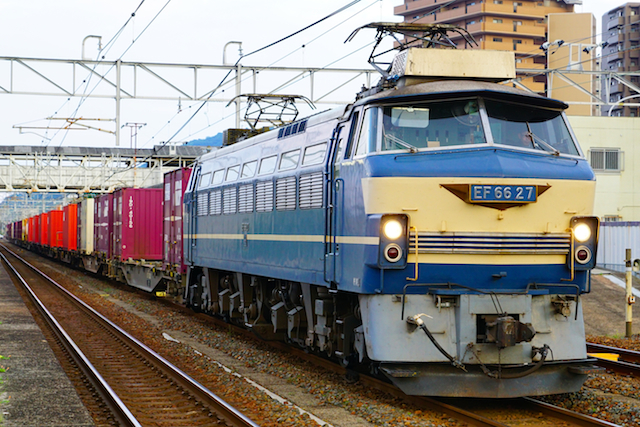 170517 JR F EF66-27 oodake-1