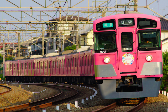 170718 seibu9000-pink pasmo-1