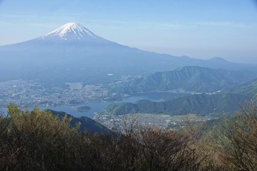 20170521-10 黒岳より富士山、河口湖、足和田山