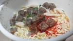 明星食品「キン肉盛ヌードル 旨辛醤油味」