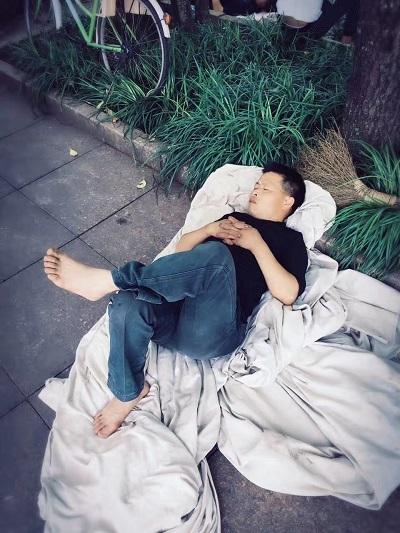 岩茶製茶ー不眠不休7