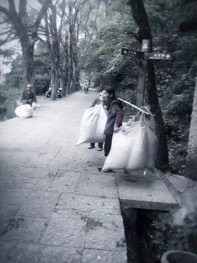 岩茶製茶―重労働4