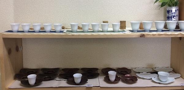 新デザイン茶杯、茶托
