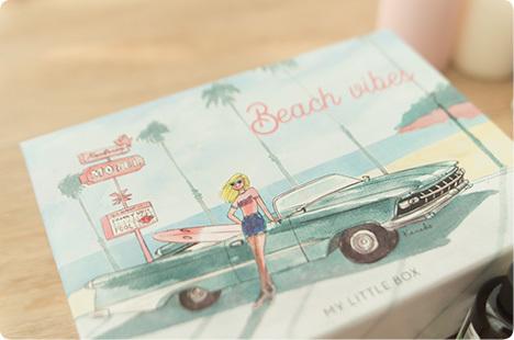 2017年6月マイリトルボックス「Beach vibes」