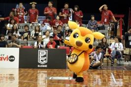 B.LEAGUE EARLY CUP 2017☆関西アーリーカップのマスコットたち。