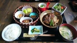 熊本市東区の田舎屋総本家でお得な荒炊きランチ♪