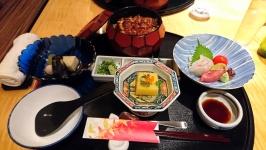 ANAクラウンプラザホテル熊本ニュースカイの光琳でひつまぶし御膳♪
