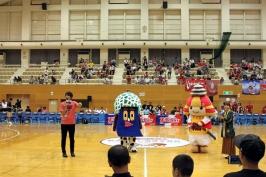 熊本ヴォルターズvsサンロッカーズ渋谷 2017-18プレシーズンマッチ。