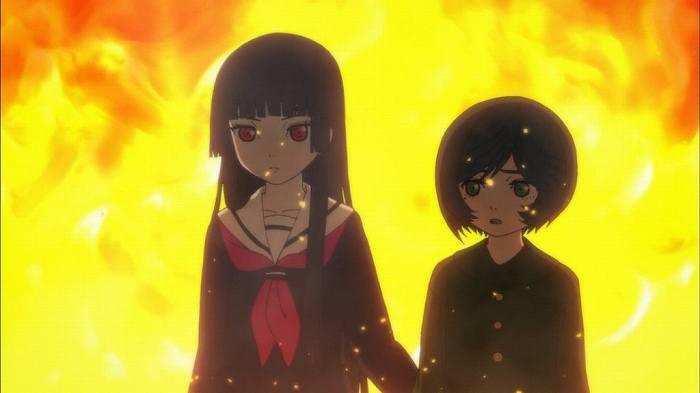 【地獄少女 宵伽】 第5話 キャプ感想 みちるの過去! 彼女もまた地獄少女になる罪を…