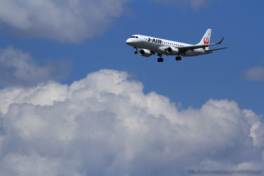 J-AIR ERJ-170STD@スカイランドHARADA