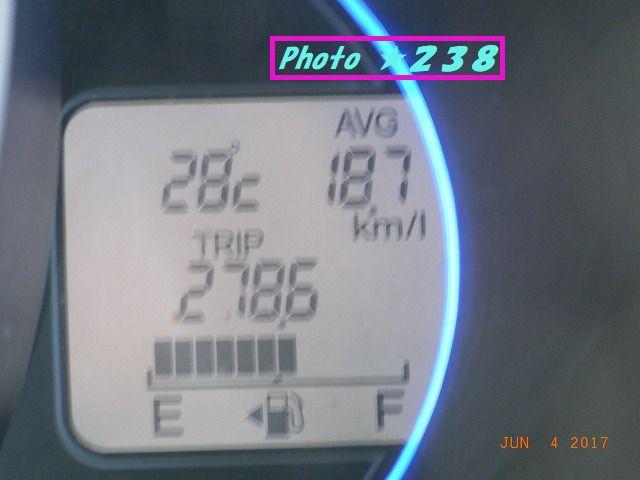 0604到着燃費