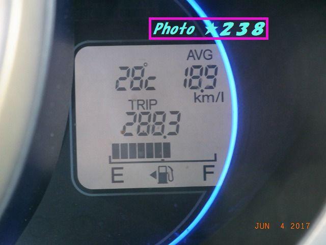 0604帰宅燃費