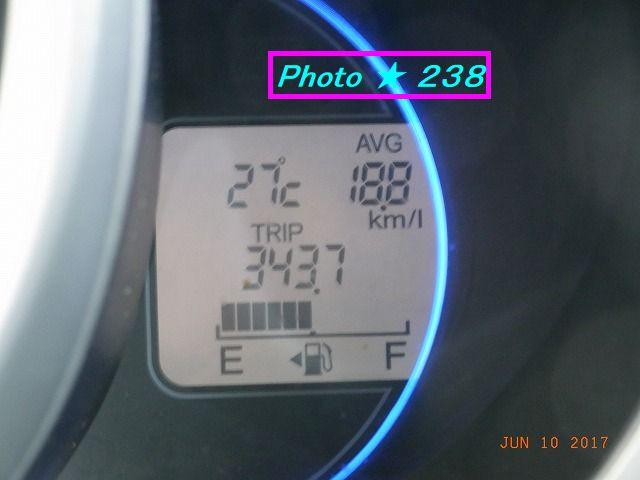 0610到着燃費