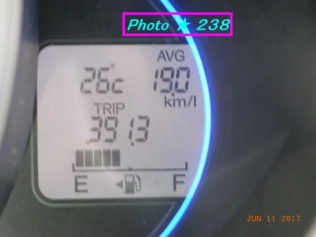 0611店到着燃費