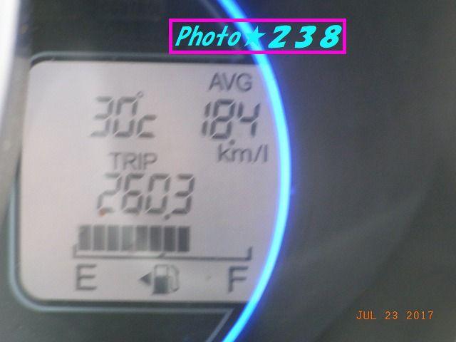 0723到着燃費