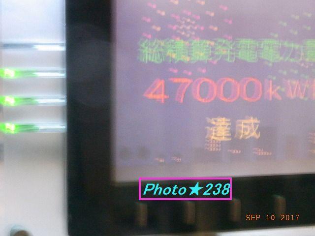 47000Kwh達成