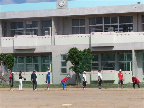 5月4日 親子野球 (1)