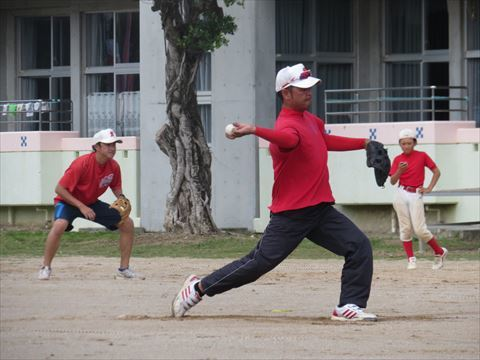 5月4日 親子野球 (3)
