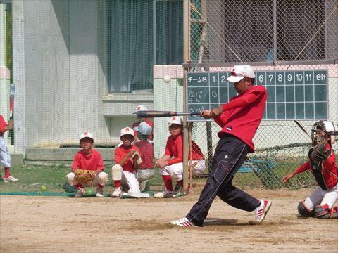 5月4日 親子野球 (5)