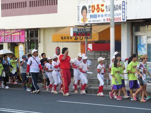 7月19日 西原町該当パレード (3)