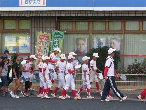 7月19日 西原町該当パレード (4)