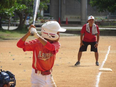 7月30日 光洋小学校 練習試合 (4)