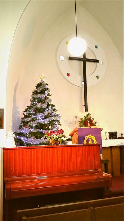 ルーテル教会礼拝堂