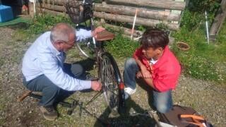 20170527 自転車修理指導員