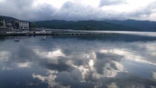 20170604 朝の水面