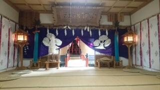 8月29日 宇賀神社社殿