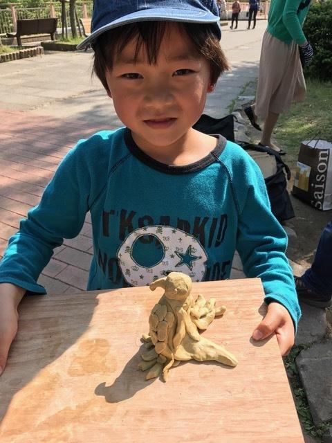zoo33小神子粘土