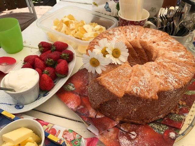 橙BDケーキ