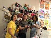 縫物ママ達3人