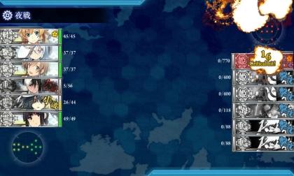 艦これ 2017年春イベント E-5 後半 Finish