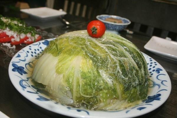 レンジでロール白菜風