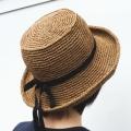 笹和紙のカンカン帽