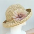 ニーノの花飾りの帽子