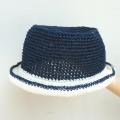 笹和紙子供用カンカン帽